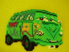 Cars character hama beads by Memekan