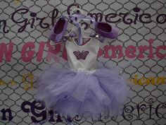 Lavender/Purple Ballet Costume FREE SHIPPING by CarolsDollCloset on Etsy