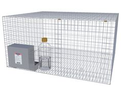 DIY Wire Rabbit Cages and Equipment