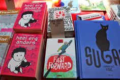 Shiuan-Wen Chu's Graphic Novels: Haarlem Stripdagen (Haarlem Comic Fair) 31 May and...