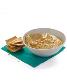 A spicy spin on the white-bean version, this pinto bean dip is surprisingly lean for its creamy texture.