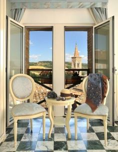 the panoramic view from our rooms www.albergoraffaello.com