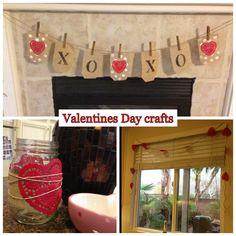 Doily heart with twine around mason jar to make valentine candle holder /tea lights
