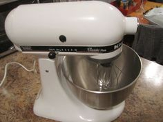 USED KitchenAid KSM75 Classic Plus 275 Watts Stand Mixer #KitchenAid
