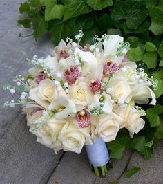 roses and orchids creams | tracy gibbons | Flickr