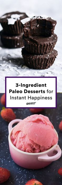So easy, even a caveman could do it. #greatist https://greatist.com/eat/paleo-desserts-with-only-three-ingredients