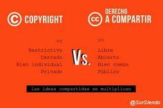 ideas, compartir, cultura libre, cultura, copyright, copyfight, público, privado, común, conocimiento
