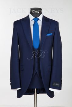 Harrogate Wedding Suit - Royal Blue. Add a cobalt tie and rose gold shirt and…