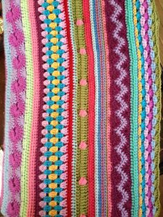 Another Vegetarian: mixed stripes ~ good site -- it actually names the stitches used