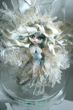 The fairy January - Cake by PALOMA SEMPERE GRAS