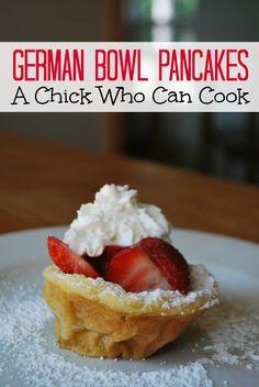 German Bowl Pancakes  on MyRecipeMagic.com #germanbowl #pancakes #breakfast
