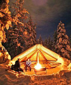 LAPPLAND Winterglück mit Glögg