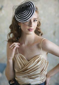 Best Wishes Headband   Modern Vintage Headpieces   Modern Vintage Accessories   Modern Vintage Bridal