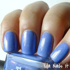 piCture pOlish Bluebird