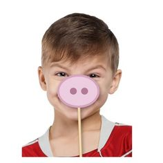 Props para photobooth de Peppa Pig