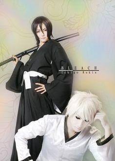 Hollow Ichigo and rukia kuchiki (BLEACH)