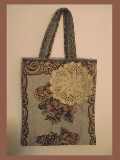 Shopping Bag Vintage Fabric