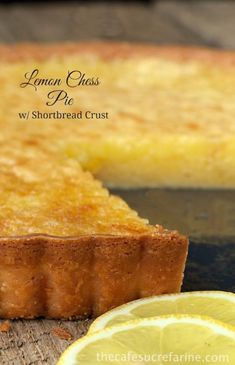 Lemon Chess Tart - A