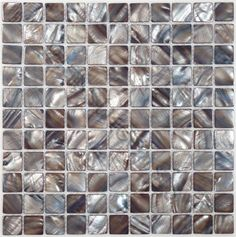 Oh good heavens.  Another backsplash choice.  this a blue-brown shell and it's gorgeous!  - Update:  competes with counter top - back to the mixed berry!