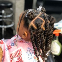 Toddler Braided Hairstyles, Cute Little Girl Hairstyles, Girls Natural Hairstyles, Natural Hairstyles For Kids, Natural Hair Styles, Black Hairstyles, Braids For Kids, Girls Braids, Girl Hair Dos