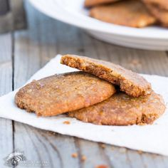 Looking for Fast & Easy Dessert Recipes, Snack Recipes! Recipechart has over free recipes for you to browse. Find more recipes like Macadamia Nut Apple Cookies. Best Paleo Recipes, Primal Recipes, Real Food Recipes, Favorite Recipes, Diet Recipes, Paleo Cookie Recipe, Cookie Recipes, Flour Recipes, Paleo Dessert