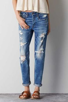 40916af86c4 American Eagle Outfitters Men's & Women's Clothing, Shoes & Accessories. Torn  JeansRipped ...