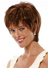 Fashionable Curly Short #30 Layered Remy Lace Front Wig