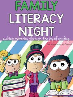 Family Literacy Night School-wide Event K-3