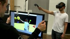 This project uses Kinect depth cameras to the fuse virtual and the real to…
