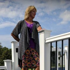 "4 Likes, 1 Comments - LuLaRoe Kelly and Donna (@lularoekellyanddonna) on Instagram: ""☀️☀️Beautiful day☀️☀️ wearing my #Monroe with a little Fall flavor in my #Azure skirt. Super comfy…"""
