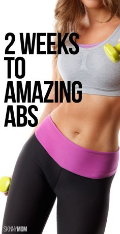 Get more sculpted abs in 2 weeks.