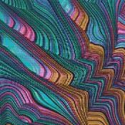 Fractal Cross Stitch Pattern No. 4801 - via @Craftsy