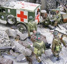 King & Country Military Miniatures - Battle of Bulge - Military Miniatures HQ