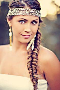 beautiful boho look // photo by TamizPhotography.com