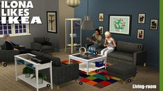 Around the Sims 3   Downloads   Objects   Living-room   Ikea