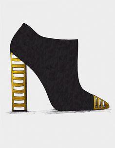 De quoi vous souhaiter une année en Or : Guillaume Bergen  #Fashion #Sketch