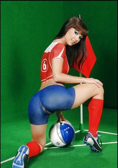 Think, that Football body paint nude and