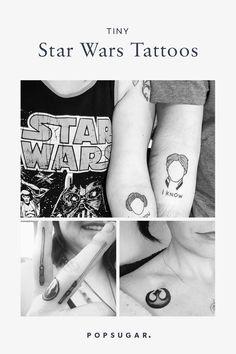 Tiny Star Wars Tattoos