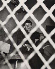 Weegee (Arthur Fellig). Frank Pape, Arrested for Homicide, November 10, 1944.