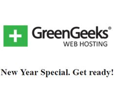 Hello, my friends! This is the special deal from GreenGeeks on the new year. You will get unlimited hosting and…