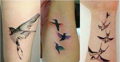 Wzory tatuażu z ptakami. Galeria 30 najpiękniejszych tatuaży z ptakami…
