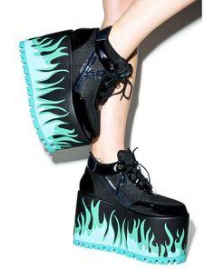 sneaker platforms dollskill - Google Search