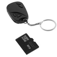 GTMax Keychain Car Remote USB Video Camera/Hidden+4GB Micro SD - 2PC by Generic. $22.95. PC Interface: USB Type A to Type USB-Mini B (5 pin).  Internal Built-In Memory: NO.  Built-in Lithium Battery: >180mAh.  Battery Life: Approx. 40-50 minute (continuous video capturing with a fully charged battery).  Charging Voltage: DC-5V.  Build of Material: Plastic case.  Package Content: 1 X A USB Type A to Type Mini-USB (5 pin) cable; 1 X USB Type A cigarette lighter ...