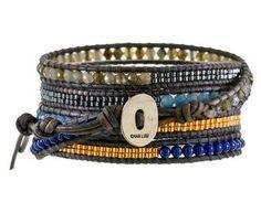 Chan Luu | Earthy Beaded Wrap Bracelet in Designers Chan Luu Cheap Chic at TWISTonline