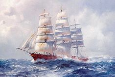 The Cutty Sark - fastest ship in the tea trade from China.