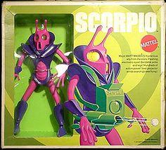 A childhood toy, from the Major Matt Mason collection---Scorpio.  Several years ago, I saw how much it was worth...yadda-yadda-yadda-I'm crushed I gave it away when I grew up.