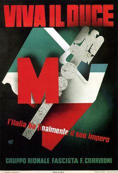 Erberto Carboni, Viva Il Duce, 1936 #TuscanyAgriturismoGiratola