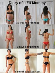 6 months postpartum update + photos {Diary of a Fit Mommy}