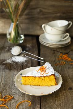 Moist Almond and Orange Cake by photo-copy, via Flickr