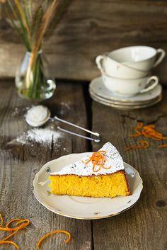 Torta all'Arancia LEGGI LA RICETTA ► http://www.dolciricette.org/2011/06/torta-allarancia-ricetta-semplice.html